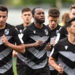 Joseph Amoah returns to pre-season training with Vitoria Guimaraes after long injury lay off