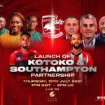 Kotoko, Southampton to launch partnership on Thursday