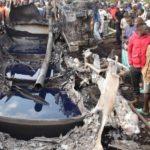 Kenyan fuel tanker explodes killing at least 13