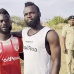 PHOTOS: Ghanaian player Bernard Morrison meets lookalike in Tanzania