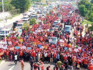 PHOTOS: NDC seizes Accra with massive demo against Akufo-Addo