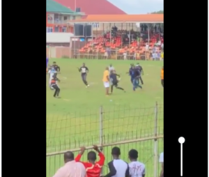 VIDEO: Referee chased and beaten by BA United fans in match against RTU