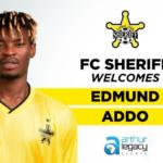 Ghanaian midfielder Edmund Addo signs for Moldovan champions FC Sheriff Tiraspol