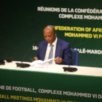 CAF President Motsepe holds press conference after Executive Committee meeting