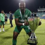 Bernard Tekpetey,Elvis Manu win Super Cup with Ludogorets Razgrad