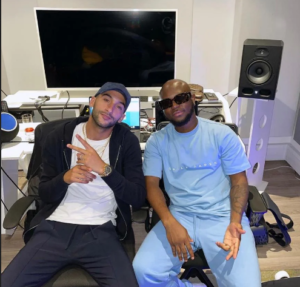 VIDEO: Chelsea's Hakim Ziyech pays visit to King Promise during studio session
