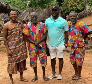 PHOTOS: Former Black Stars defender John Paintsil stars in Kumawood series