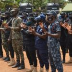 Security personnel begin community crime prevention at Akaa