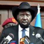 South Sudan leader pledges no more war