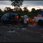 PHOTOS: Five feared dead, others injured in gory accident at Suhum