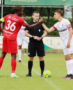 VIDEO: Maxwell Woledzi scores for FC Nordsjaelland in preseason win over Royal Antwerp