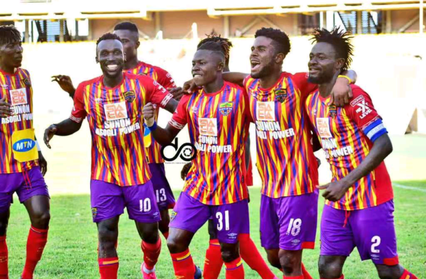 VIDEO: Watch highlights of Hearts' MTN FA Cup win over Elmina Sharks