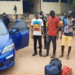 V/R: Three in Police grips for illegal possessing firearms in Ho
