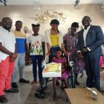 KOD donates wheel chair to 9-year-old girl who crawls over 1km to school