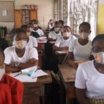 Lady Gee Foundation donates nose masks to Wesley Girls