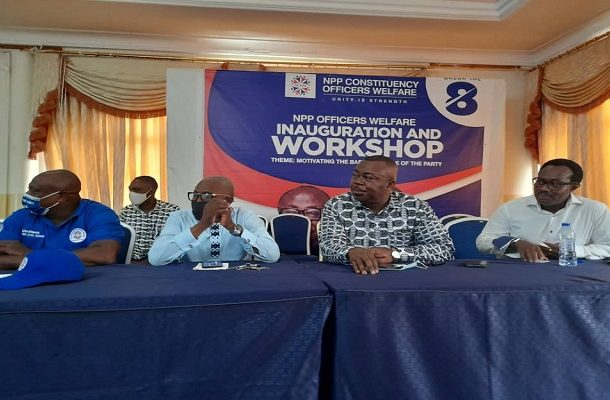 NPP inaugurates welfare scheme to resource chairpersons