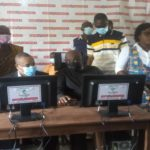 Okyere Baafi, Nyonkopa Cocoa and Barry Callebaut jointly donate computers to Densuano school