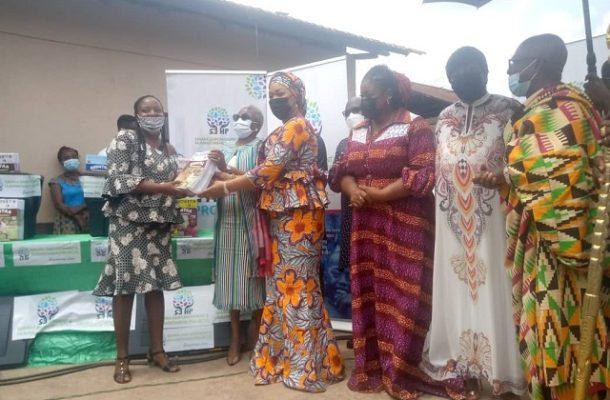 Samira Bawumia's Foundation donates to Akuapem North schools
