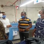 Eastern Regional Ministers pays working visit to Maagrace Garment Industries