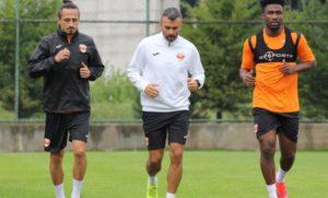 PHOTOS: Samuel Tetteh trains with his new side Adanaspor