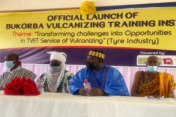 First Vulcanizing Training Institute launched in Ghana