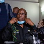 Former president Jacob Zuma hands himself in to South African police to begin jail term