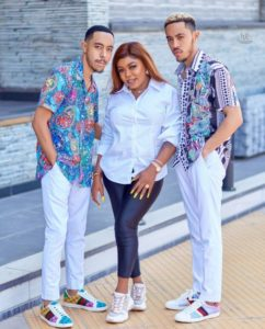 VIDEO: Cash flows at Afia Schwarzenneger's sons' 20th birthday party