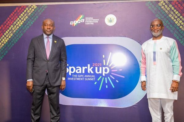 MOI and GIPC outdoor Spark Up to boost Ghana's investment drive
