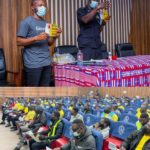 Glovo Ghana partners MTTD to give safety training for couriers