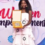 Nana Ofosuaa Ayim honoured; recognised as 'woman of the year in cultural arts'