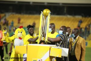 PHOTOS: Hearts beat AshGold in MTN FA Cup finals to seal historic double