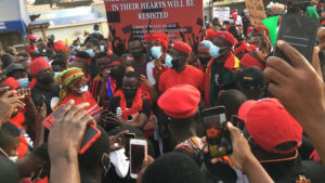 PHOTOS: Thousands of Ghanaian youth storm Accra for #FixTheCountry demo