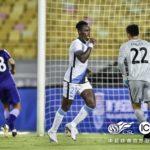Emmanuel Boateng scores for Dalian Pro in win over Tianjin Teda