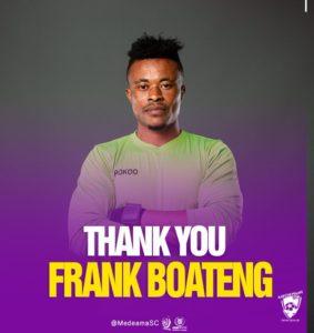 Goalkeeper Frank Boateng joins King Faisal after departing Medeama