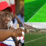 Joe Ghartey's Legacy: Three astro turfs, one natural grass pitch almost Completed