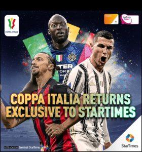 StarTimes extends exclusive media rights to Coppa Italia & Supercoppa Italiana