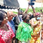 Agona East MP, Pokuah Sawyerr launches mobile healthcare van for her constituents