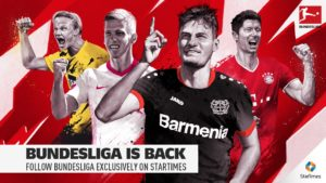 Watch Bundesliga on StarTimes Lewandowski faces a challenge with Haaland's rise