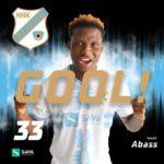 Issah Abass scores brace for Croatian side NK Rijeka against Dinamo Zagreb