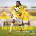 Kwame Kizito scores to hand Falkenbergs a draw