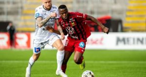 VIDEO: Watch Patrick Kpozo's goal against Hammarby in Sweden