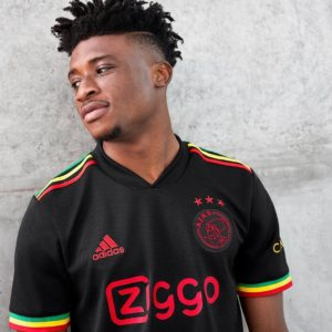 PHOTOS: Kudus Mohammed models in unique Bob Marley themed Ajax third kit