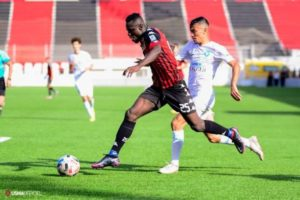 VIDEO: Watch Kwame Opoku's last minute winner for USM Algers against Paradou