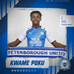 I'm looking forward to the new challenge - Peterborough new boy Kwame Poku