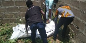 PHOTOS: Man found dead in uncompleted building