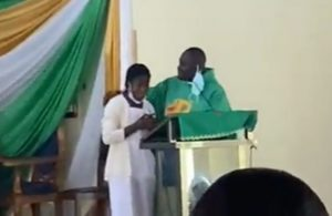 Anglican church speaks on video of priest kissing students