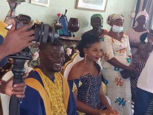 PHOTOS & VIDEO: Hearts coach Samuel Boadu marries fiancée in Kumasi