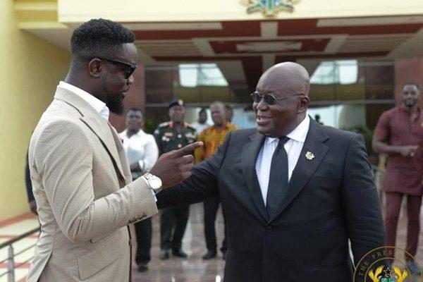 Forgive me - Sarkodie apologises to President Akufo-Addo