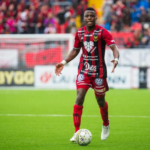 Defender Patrick Kpozo scores for Oestersunds FK in Hammarby IF draw