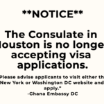 Ghana Association of Houston calls for reopening of consulate